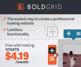 boldgrid special deal