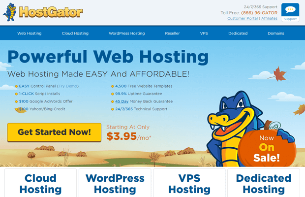 Hostgator domain discount coupon