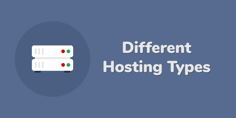 different hosting types
