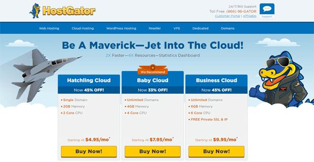 hostgator cloud hosting coupon