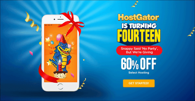 hostgator fourteen years old discount coupon