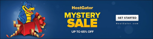 hostgator mystery coupon code