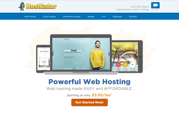 hostgator review 2017