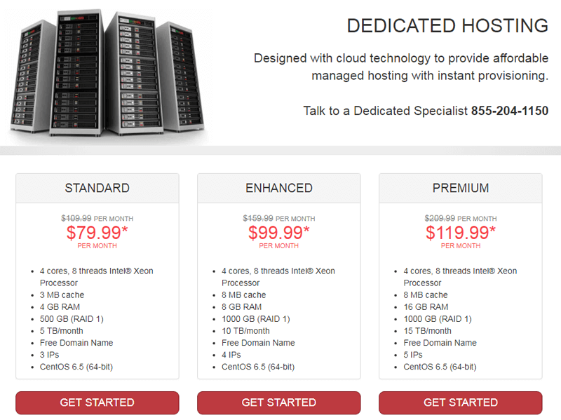justhost dedicated hosting review