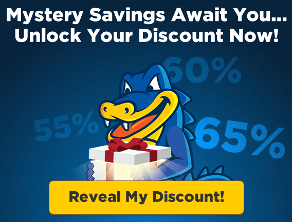 reveal mystery discount hostgator