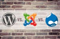 best cms wordpress joomla drupal