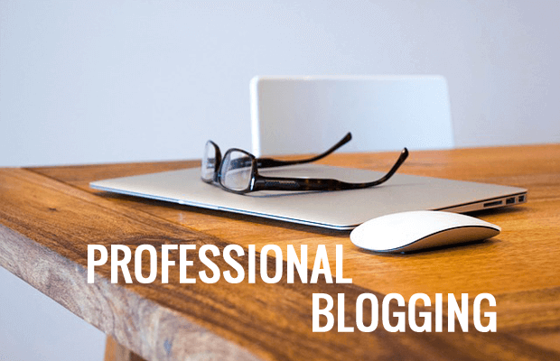 how to build a professional blog