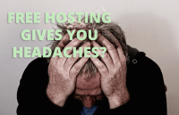 is free hosting good for business websites