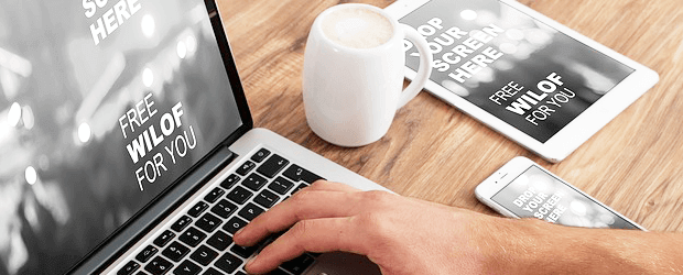 responsive website for online business