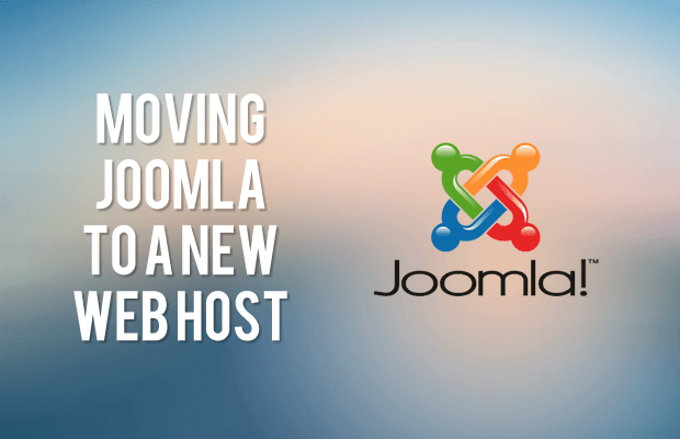 how to transfer joomla web site to a new web hosting provider