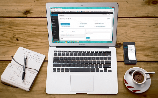 build small business website with wordpress