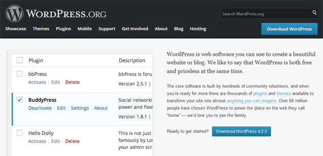 use wordpress for personal website or blog