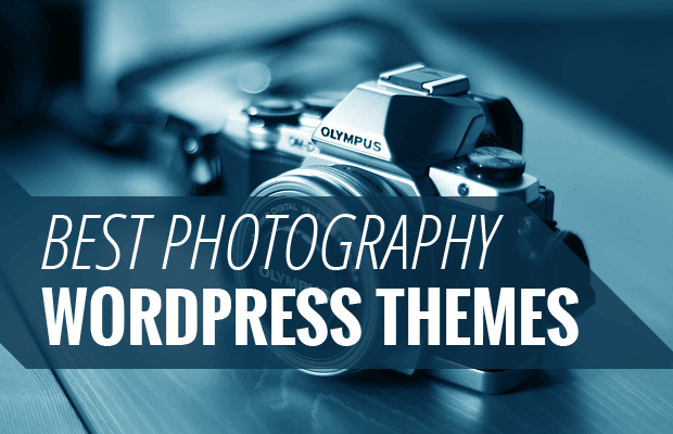 Best Photography WordPress Themes [2018]