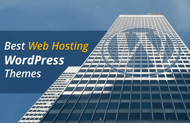 best wordpress themes for web hosting provider