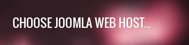 choose perfect joomla web host
