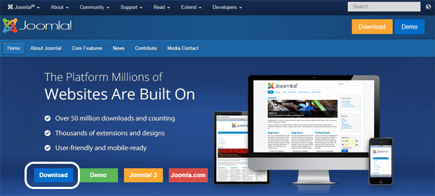 download joomla latest version