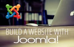 how to build website with joomla