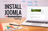 install joomla to inmotion hosting