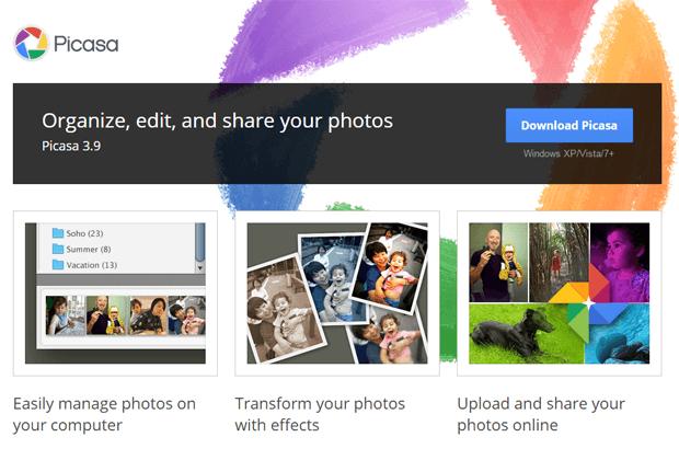 picasa web album free image hosting