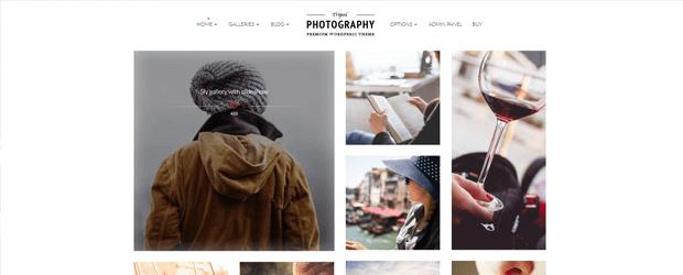 tripod premium photography wordpress theme