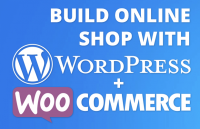build online shop with wodpress and woocommerce