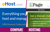 compare ehost vs ipage who is the best hosting provider