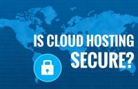 is cloud hosting secure for website hosting?