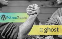 wordpress vs ghost comparison review