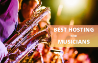 best web hosting for musicians