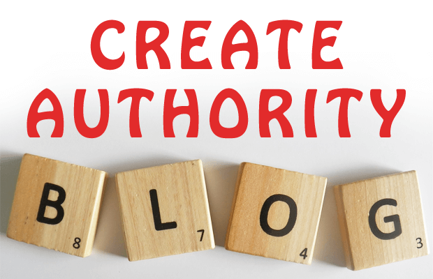 create authority and popular blog