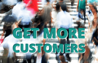 get more customers online shop website