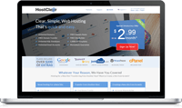 hostclear cheap web hosting