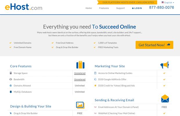 reasons why choose ehost.com web hosting company