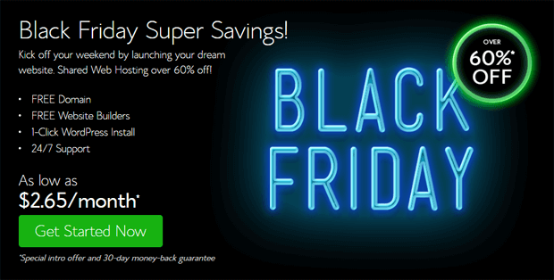 bluehost black friday deals 2016
