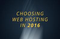 choose best web hosting 2016