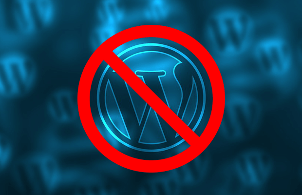 when not to use wordpress for your site