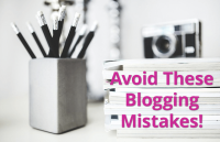 10 blogging mistakes you should avoid