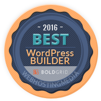 boldgrid best wordpress builder 2016