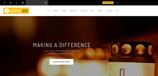 church suite woocommerce theme