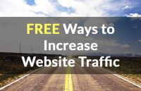 free ways to increase website traffic