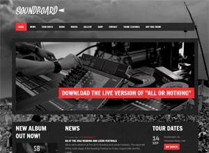 soundboar music theme wordpress