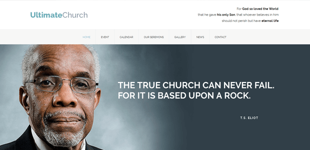 ultimate church wordpress theme