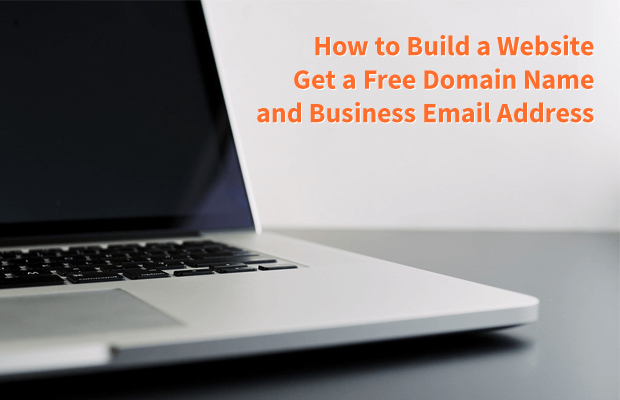 build website get free domain name business email address