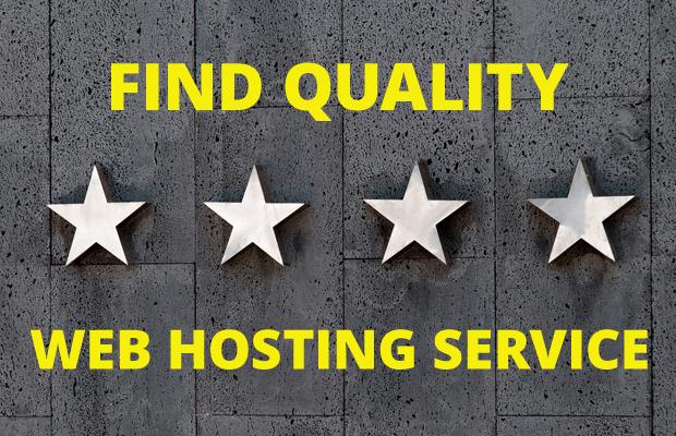 find quality web hosting service provider
