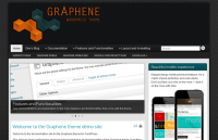 graphene theme review