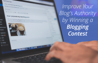 improve blog authority by winning blogging contests