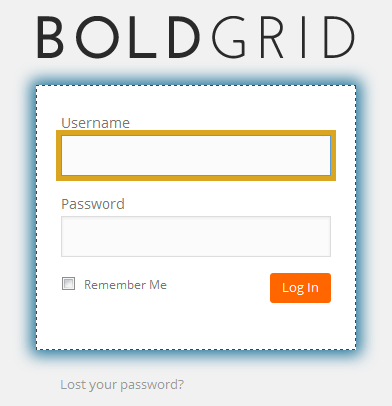 inmotion boldgrid login