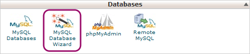 mysql database wizard wordpress website transfer