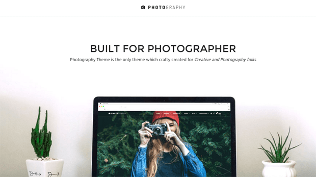 photography responsive wordpress theme