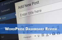 wordpress dashboard review